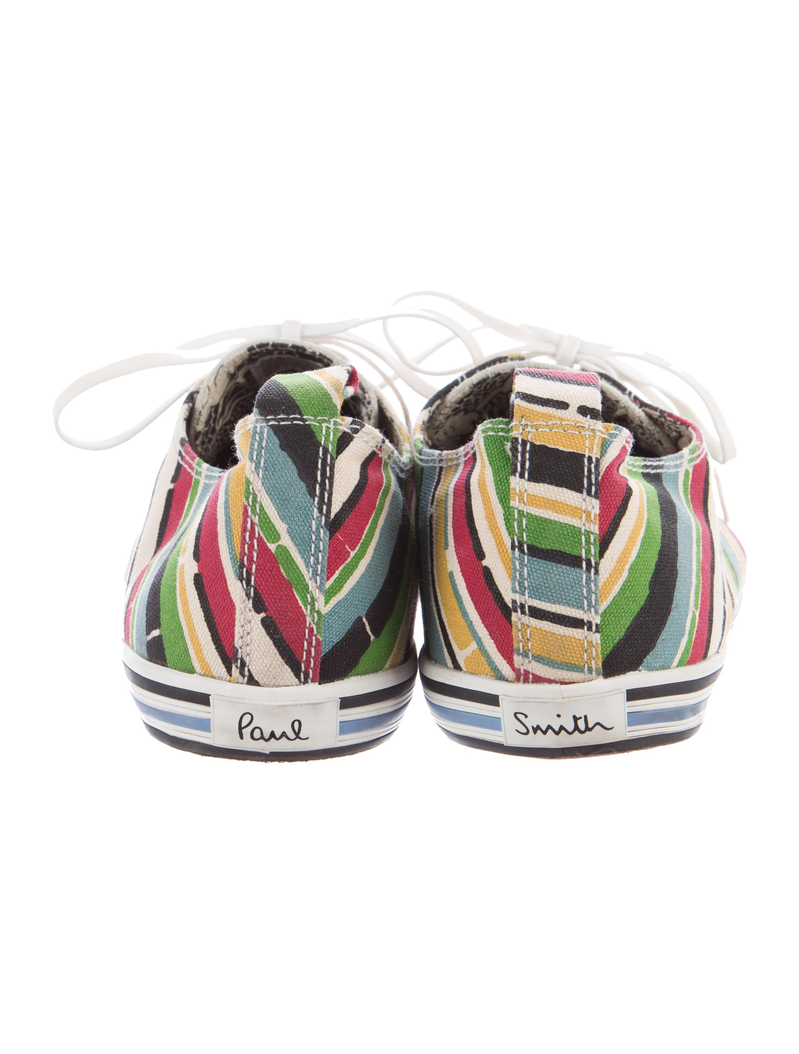 paul smith canvas suede low top sneakers shoes