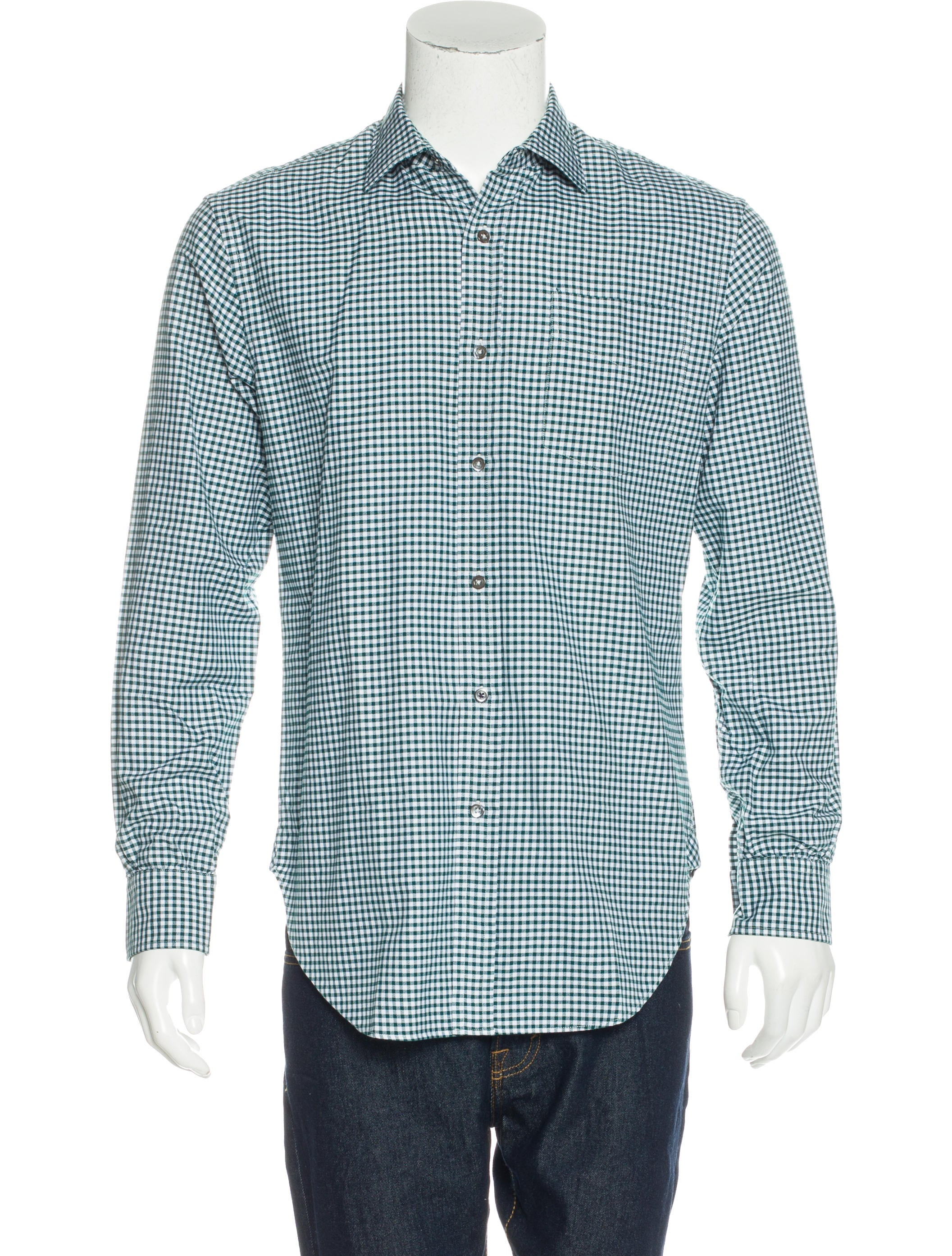 Paul Smith Gingham Woven Shirt Clothing Wps23955 The