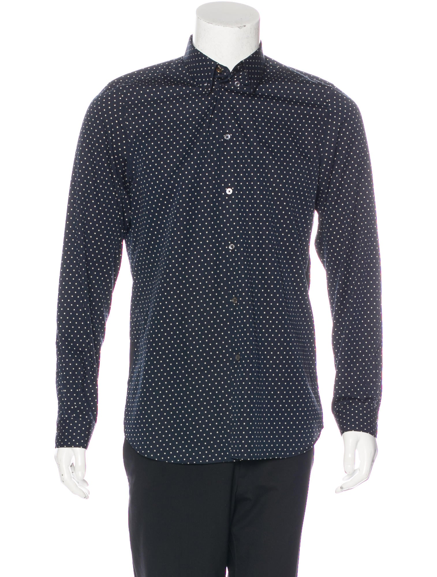 Paul Smith Polka Dot Woven Shirt - Clothing