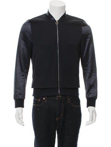 Paul Smith Wool Bomber Jacket None
