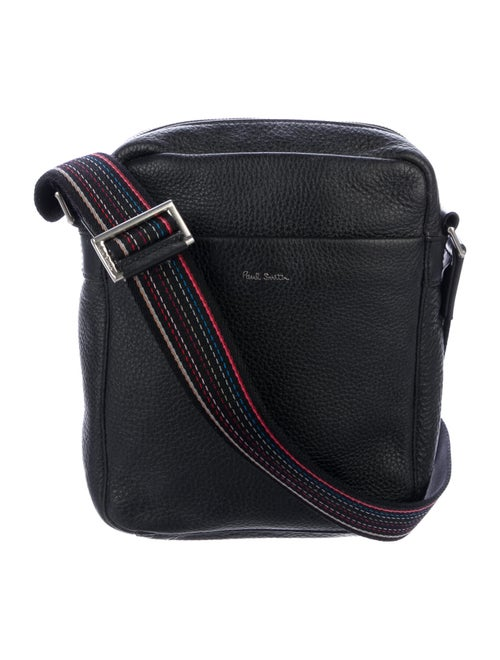 Paul Smith Leather Shoulder Bag Black