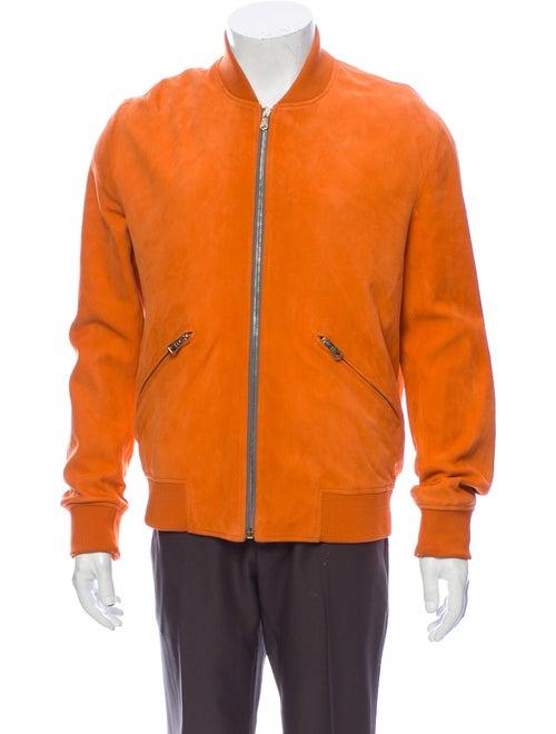 Paul Smith Bomber Jacket Orange