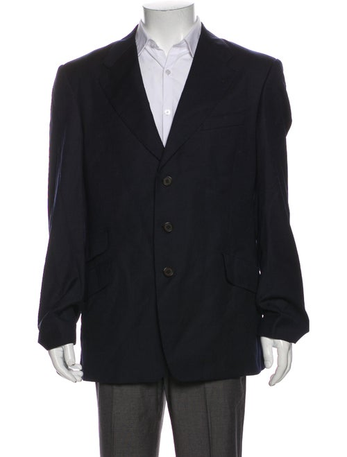 Paul Smith Wool Striped Blazer Wool