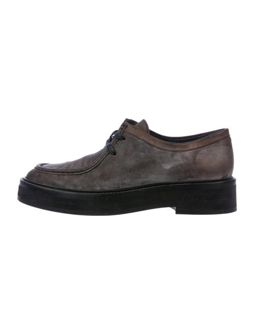 Paul Smith Leather Derby Shoes Grey