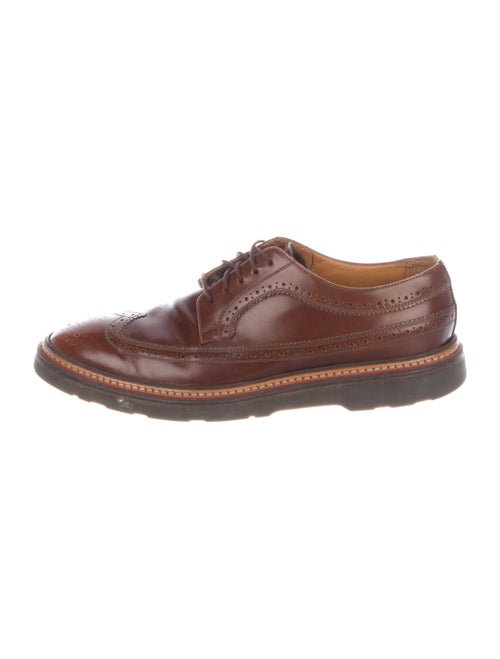 Paul Smith Leather Brogue Oxfords brown
