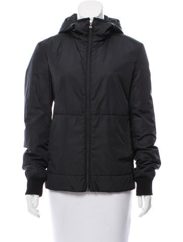 Poupette St Barth Hooded Long Sleeve Jacket None