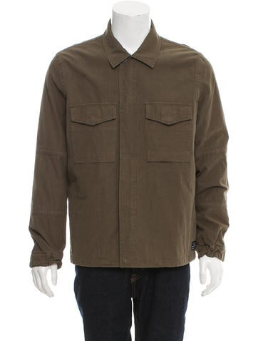 Paul Smith Jeans Lightweight Military Jacket None