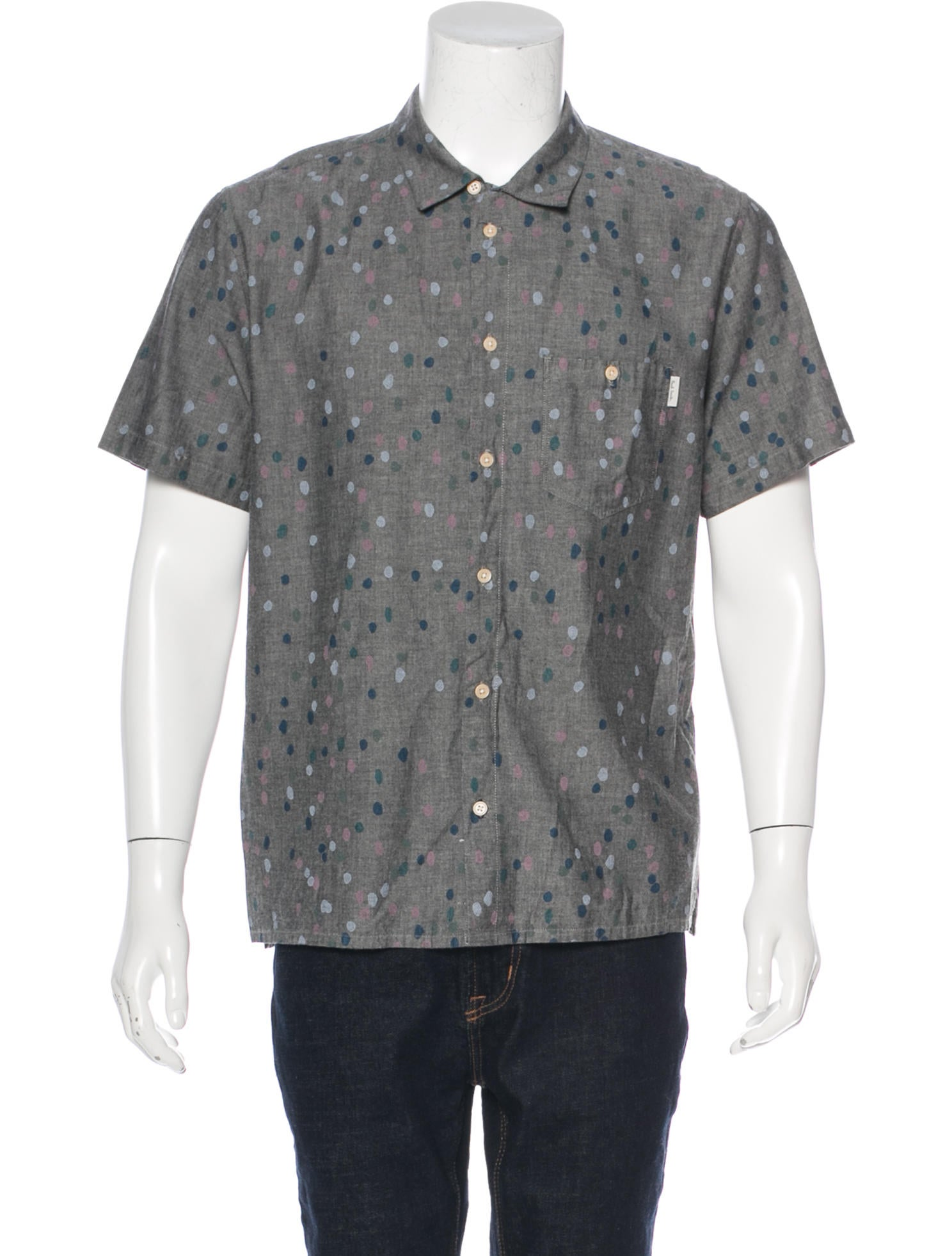 Shop for polka dots shirts mens online at Target. Free shipping on purchases over $35 and save 5% every day with your Target REDcard. skip to main content skip to footer. Men's Polka Dot Short Sleeve Button-Down Shirt - Original Use™ Black.