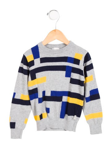 Paul Smith Junior Boys' Geometric Patterned Sweater None