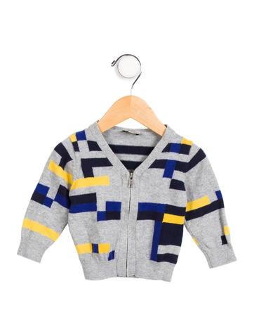Paul Smith Junior Boys' Knit Colorblock Cardigan None
