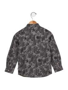 Paul Smith Junior Boys' Printed Button-Up Shirt
