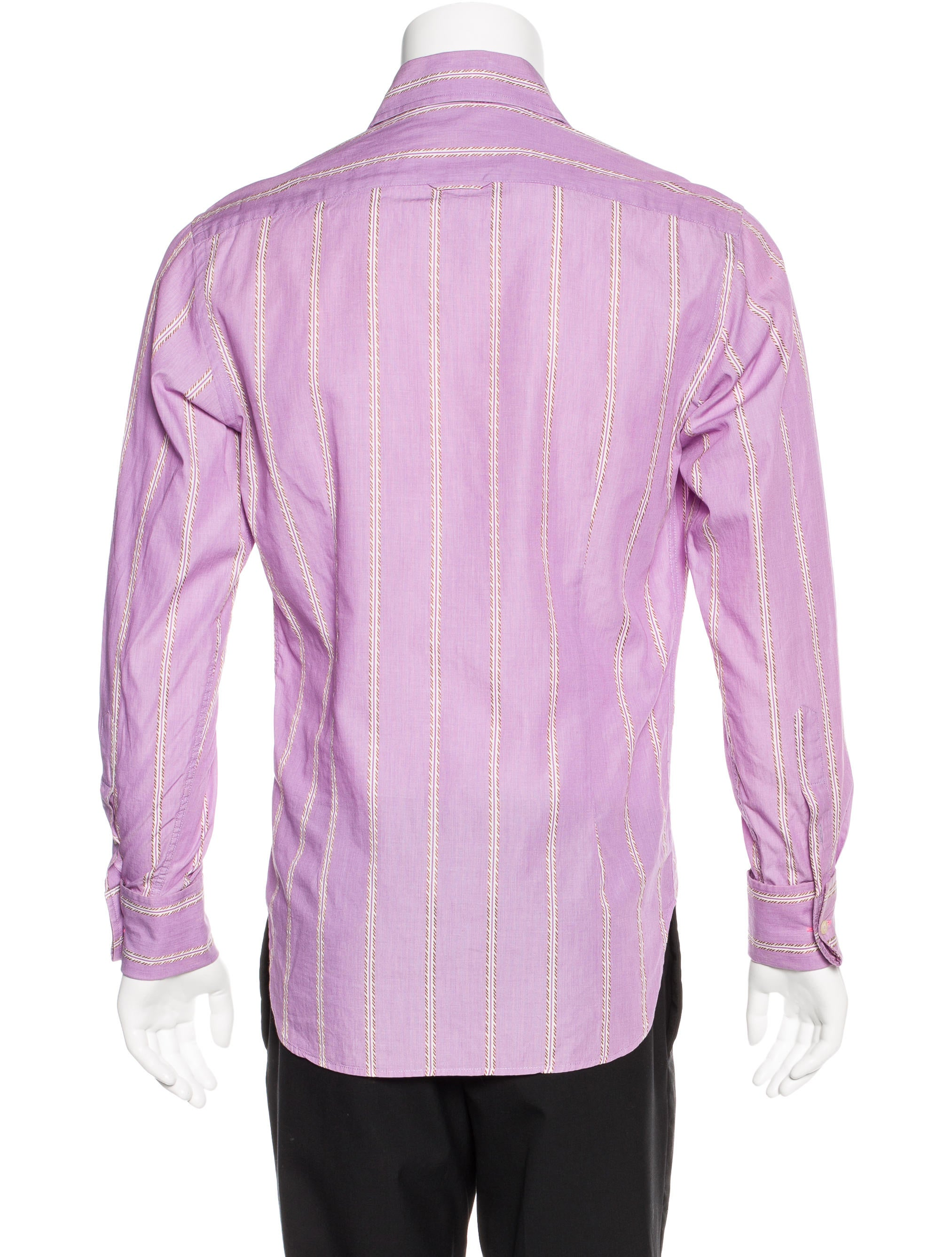 Ps by paul smith striped french cuff shirt clothing for French cuff dress shirts for sale