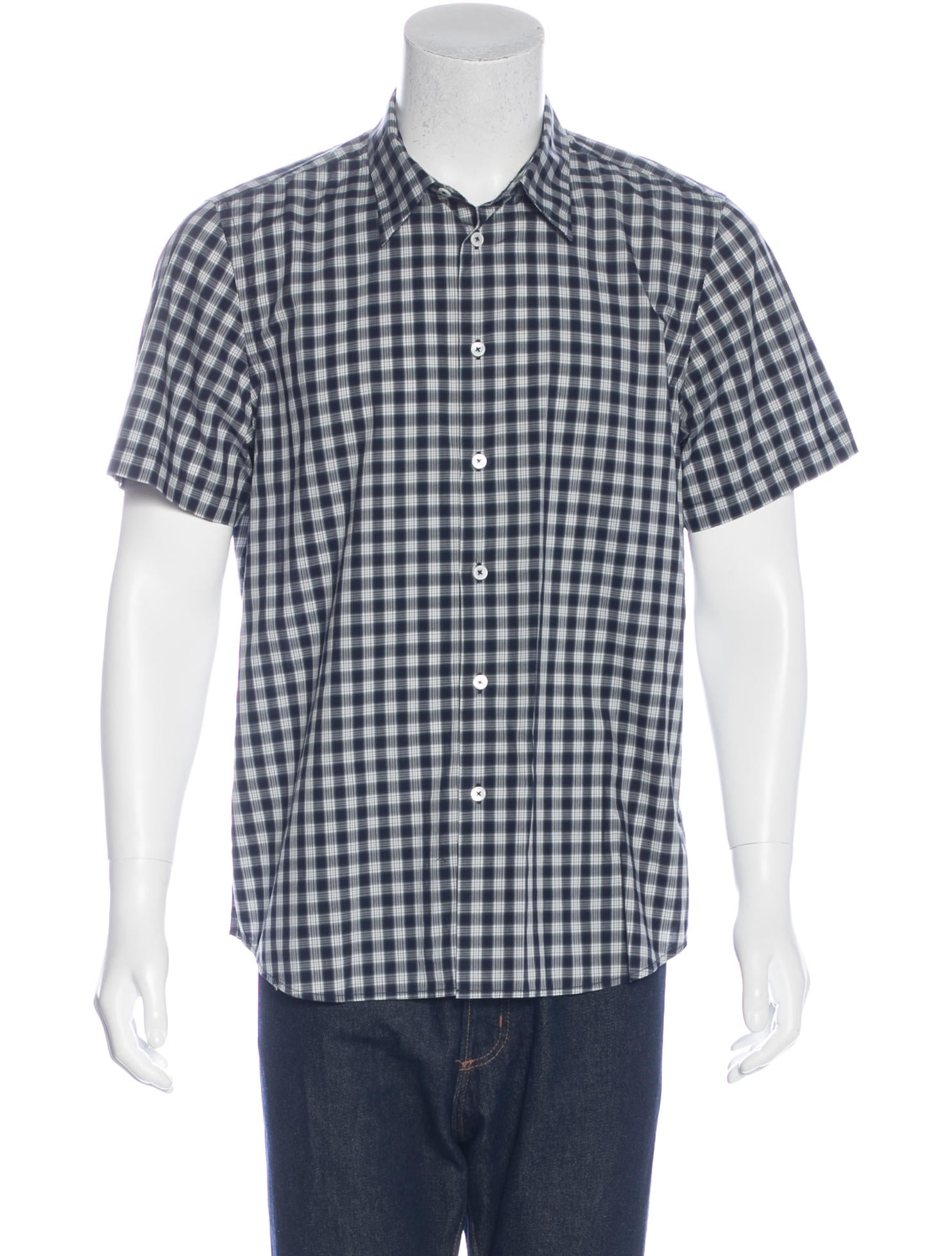 Ps by paul smith plaid short sleeve shirt clothing Short sleeve plaid shirts