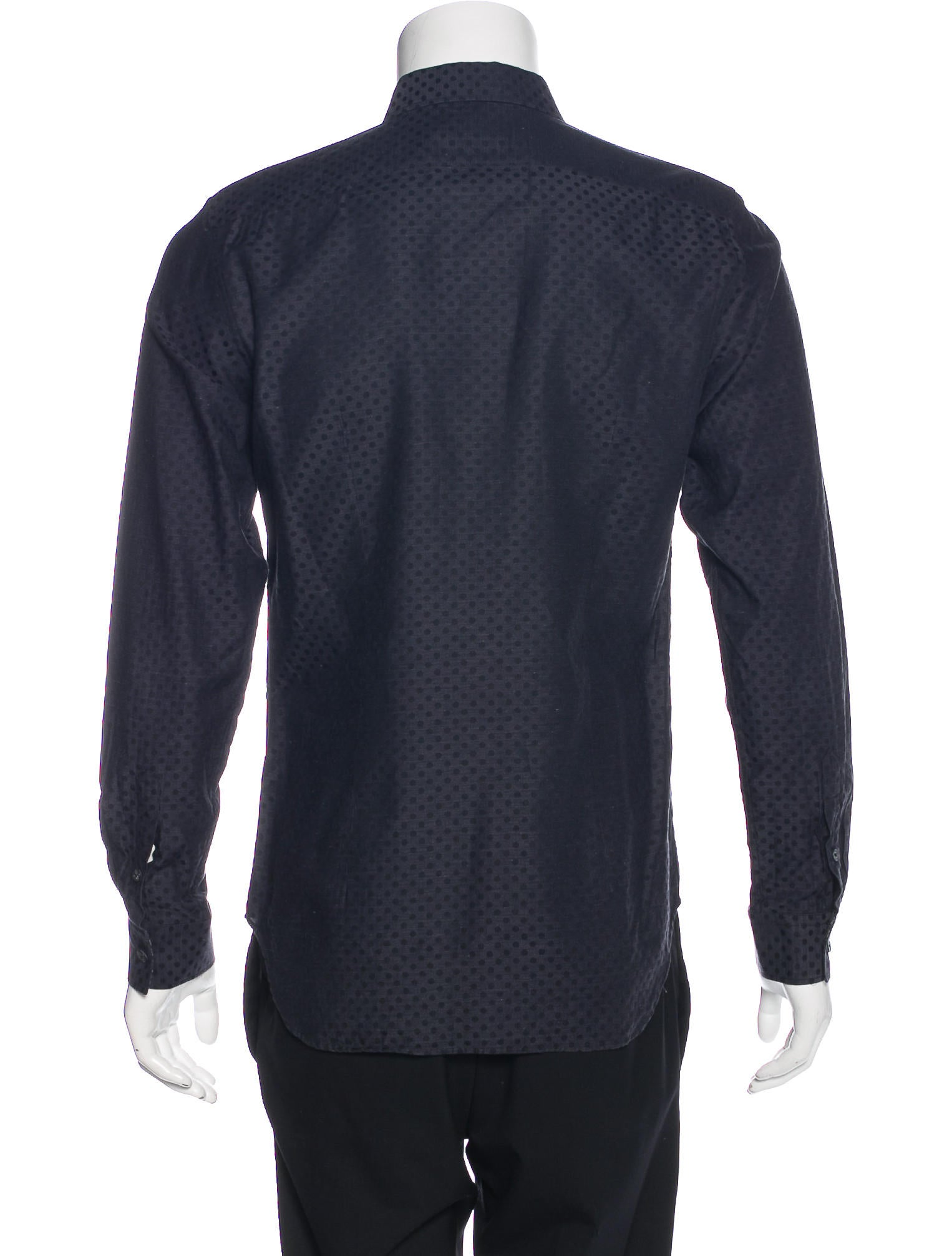 PS by Paul Smith Polka Dot Woven Shirt