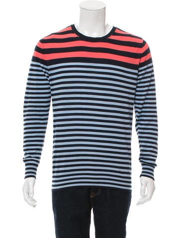 PS by Paul Smith Striped Lightweight Sweater None