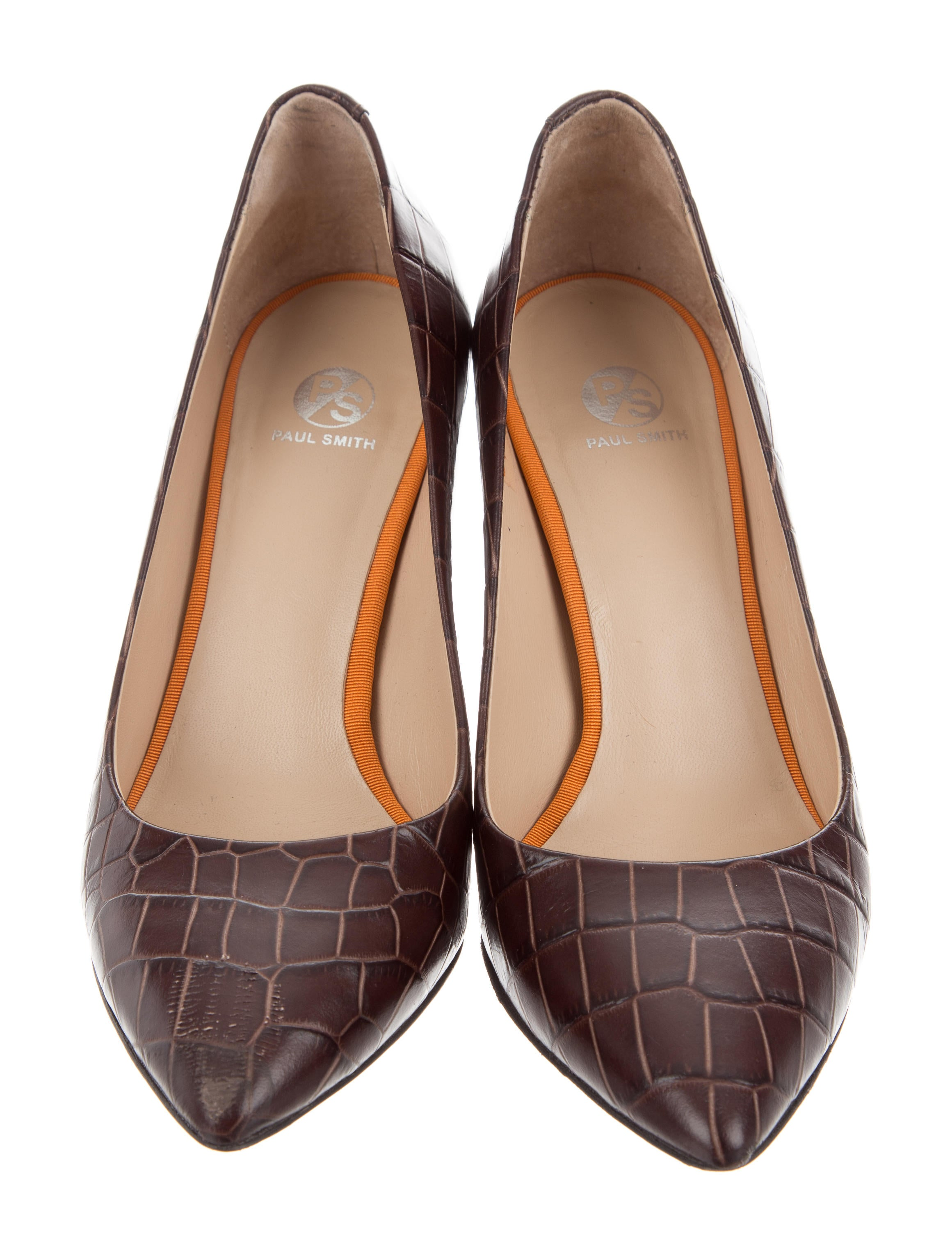 2014 unisex online PS by Paul Smith Embossed Lin Pumps best store to get cheap online outlet locations for sale pick a best cheap online enjoy cheap online t4hZv
