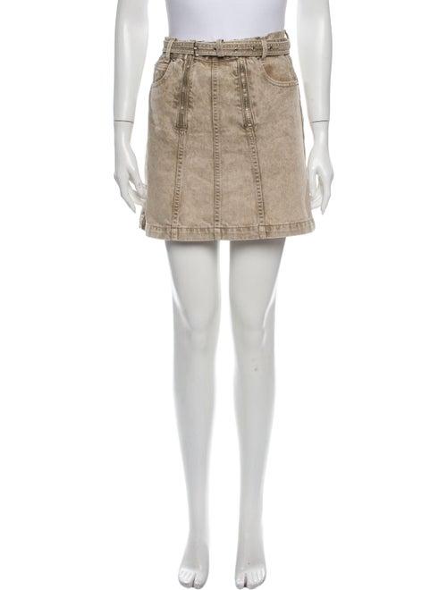 Proenza Schouler White Label Mini Skirt White