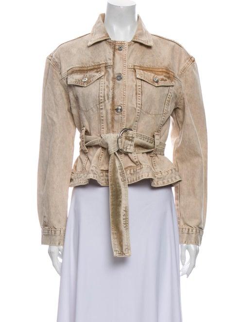 Proenza Schouler White Label Denim Jacket White