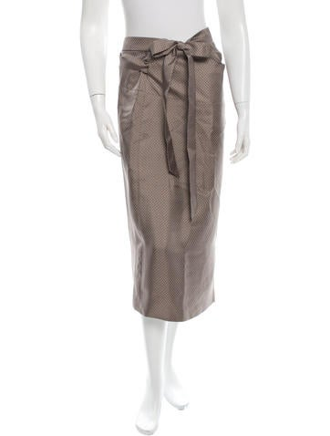 Pauw Silk Wrap Skirt