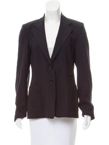 Pauw Notched-Lapel Wool Blazer w/ Tags None