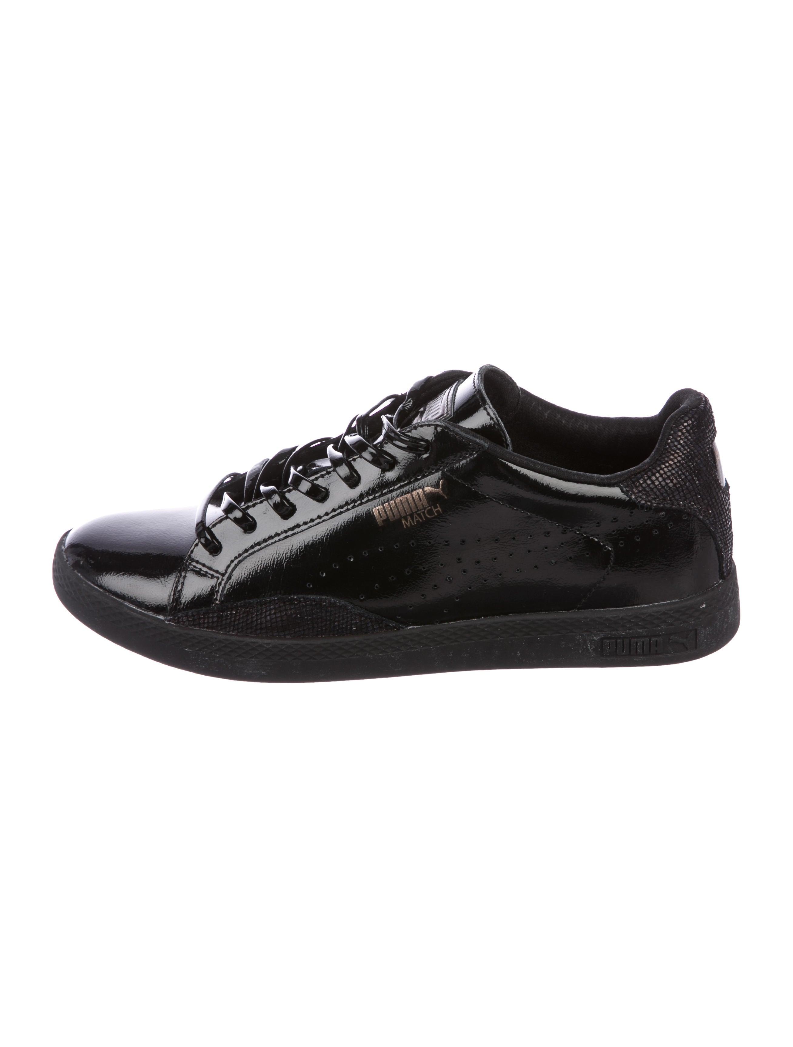 new product de560 dea81 Puma Match Patent Leather Sneakers - Shoes - WPUMA20196 ...