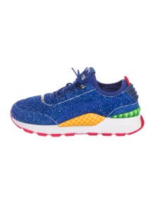 Puma X Sonic The Hedgehog Suede Rs 0 Sneakers Shoes Wpuma20450 The Realreal