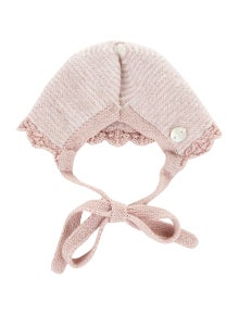 Paz Rodriguez Girls' Knit Bonnet