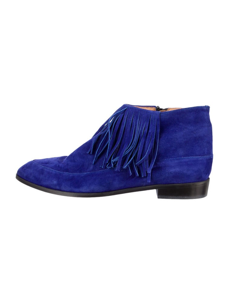 Rodebjer Suede Ankle Boots - Shoes - WQZ20014 | The RealReal