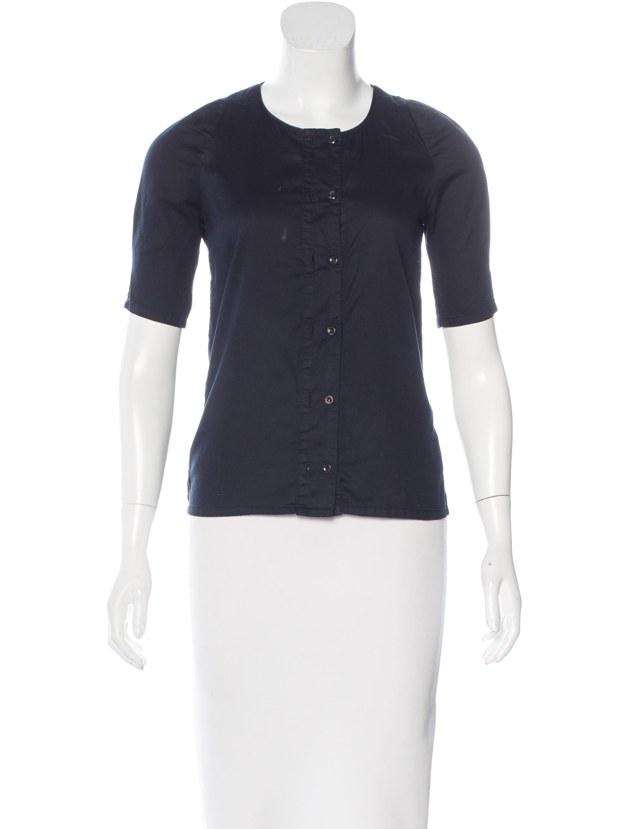 Rodebjer Fitted Button Up Top Clothing Wqz20228 The