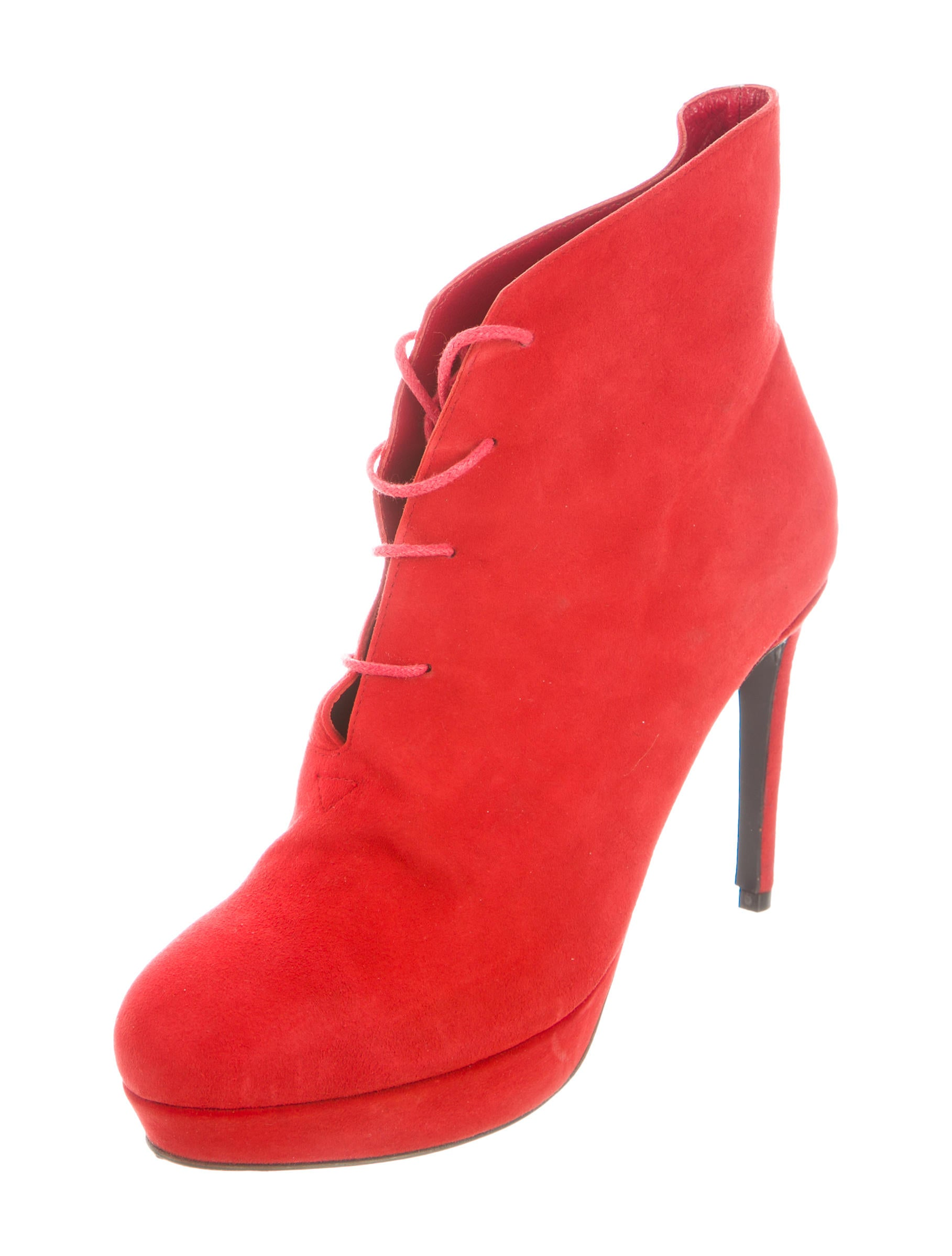 rodebjer suede platform ankle boots shoes wqz20347