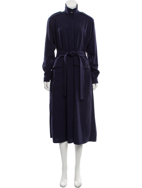 Rodebjer Belted Midi Dress Navy