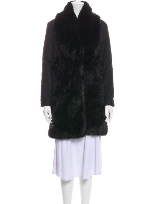 Rodebjer Faux Fur Coat Black