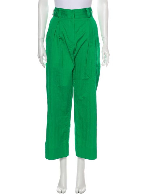 Rodebjer Wide Leg Pants Green