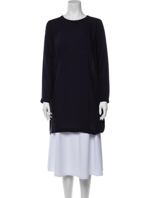 Rodebjer Crew Neck Long Sleeve Tunic Blue