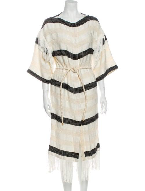 Rodebjer Striped Knee-Length Dress