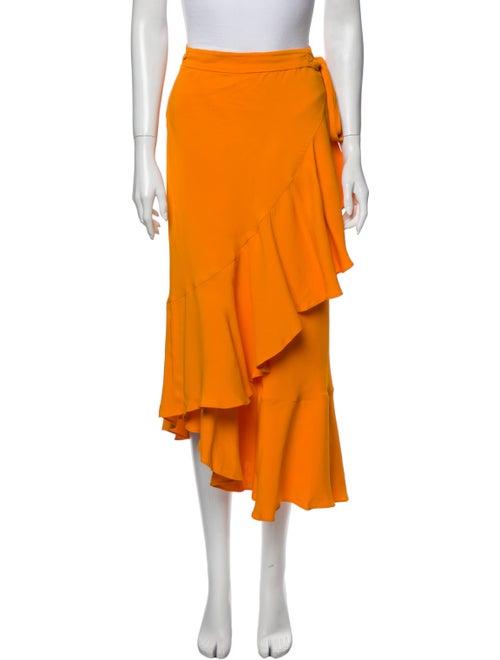 Rodebjer Midi Length Skirt Orange
