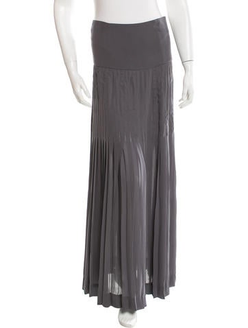 Richard Chai Love Pleated Maxi Skirt