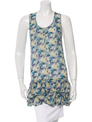 Richard Chai Love Sleeveless Silk Top
