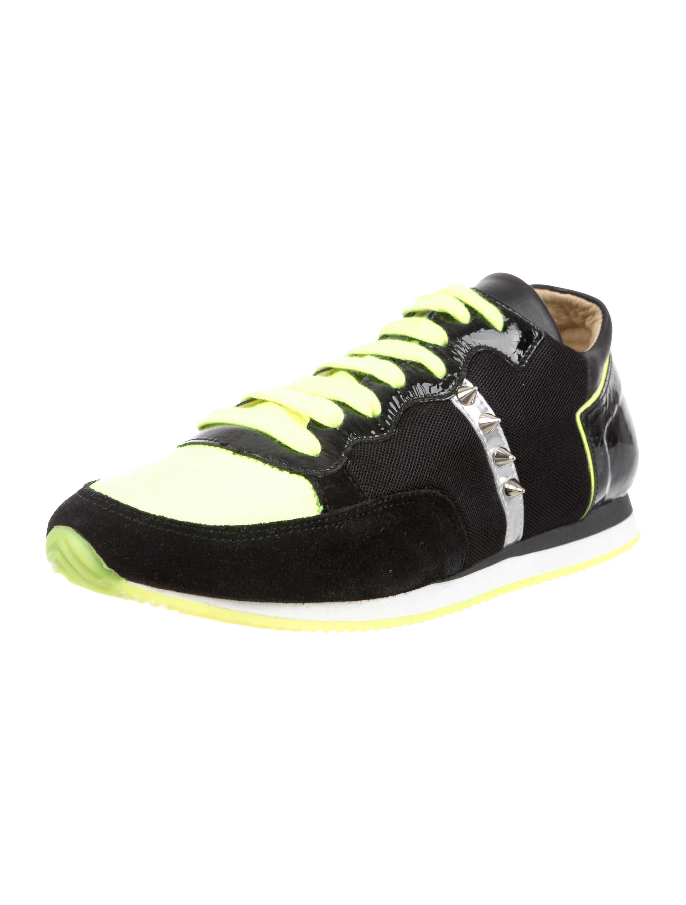 Ruthie Davis Round-Toe Low-Top Sneakers w/ Tags