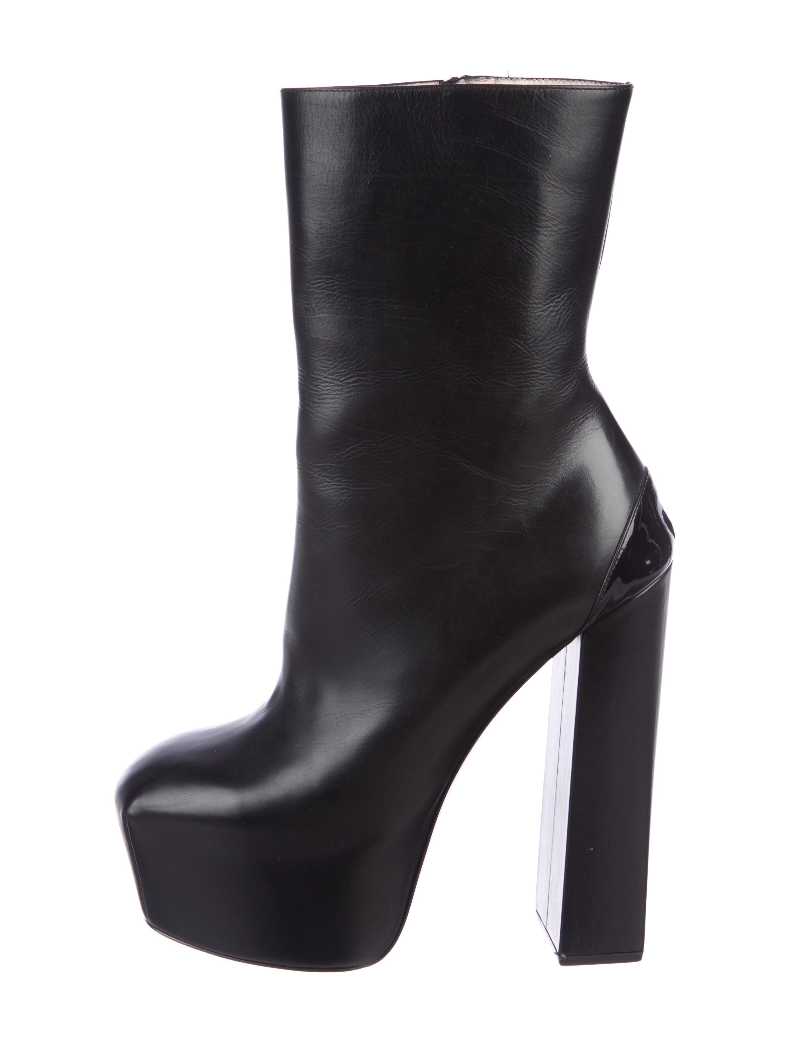 Ruthie Davis Leather Platform Ankle Boots with credit card cheap sale wiki explore cheap sale authentic ZIy1m0