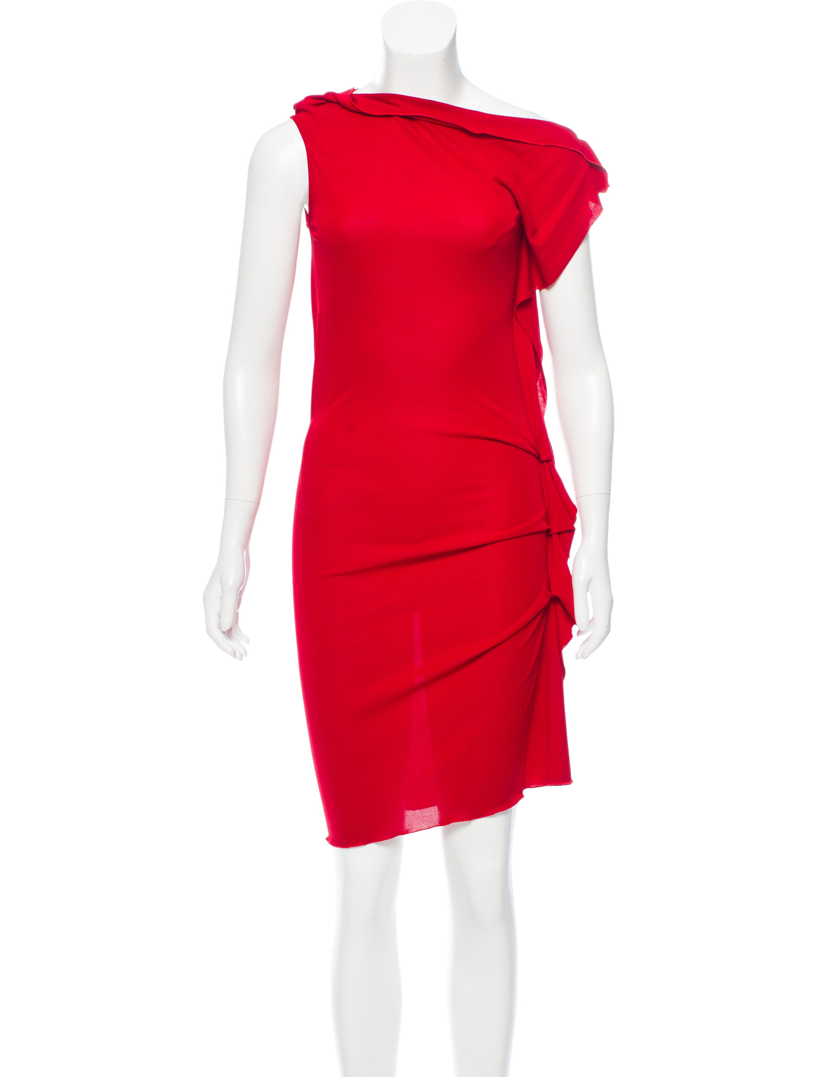 draped by dresses drapes rm midi dress enlarged clothing women roland products the mouret