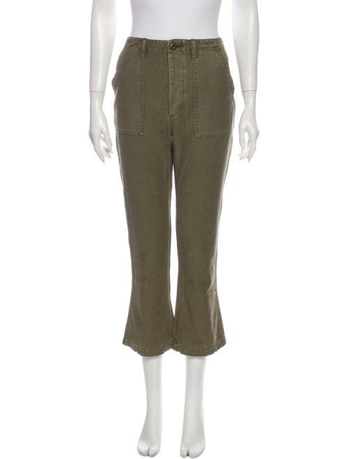 R13 Wide Leg Pants Green