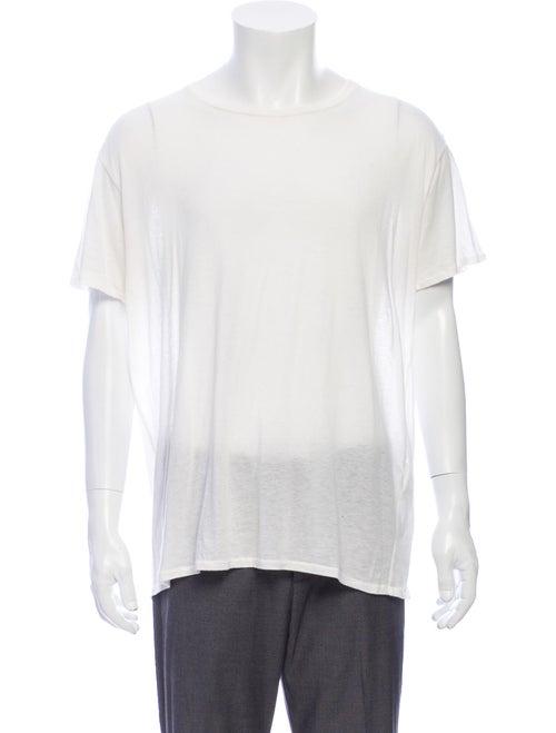 R13 Crew Neck Short Sleeve T-Shirt White