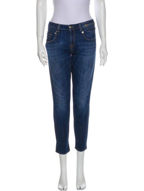R13 Boy Skinny Skinny Leg Jeans Blue
