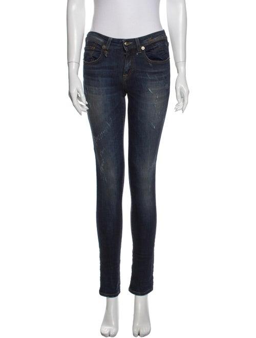 R13 Skinny Skinny Leg Jeans Blue