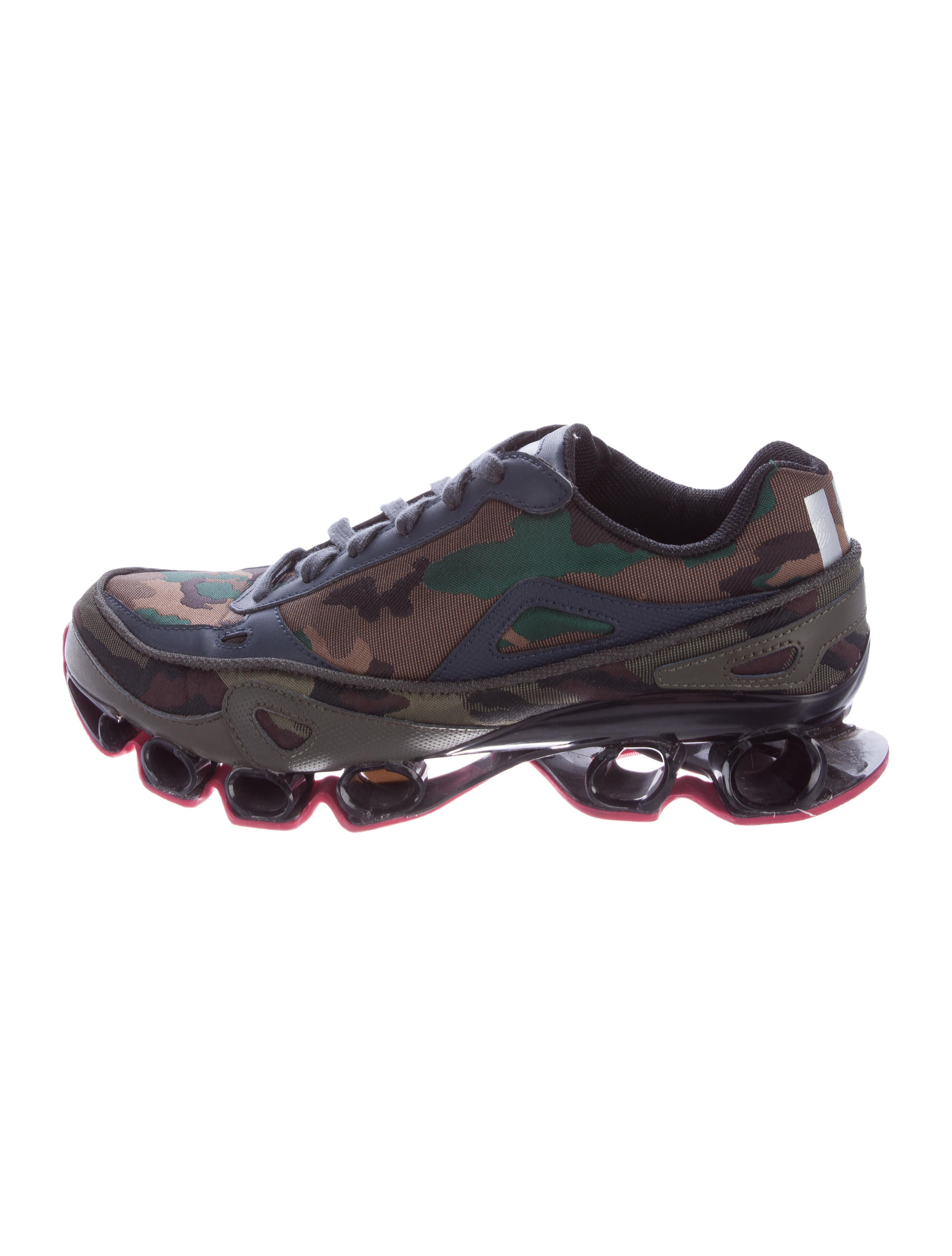 1c7c96b22 Raf Simons x adidas Raf Simons x Adidas Bounce Camouflage Sneakers ...