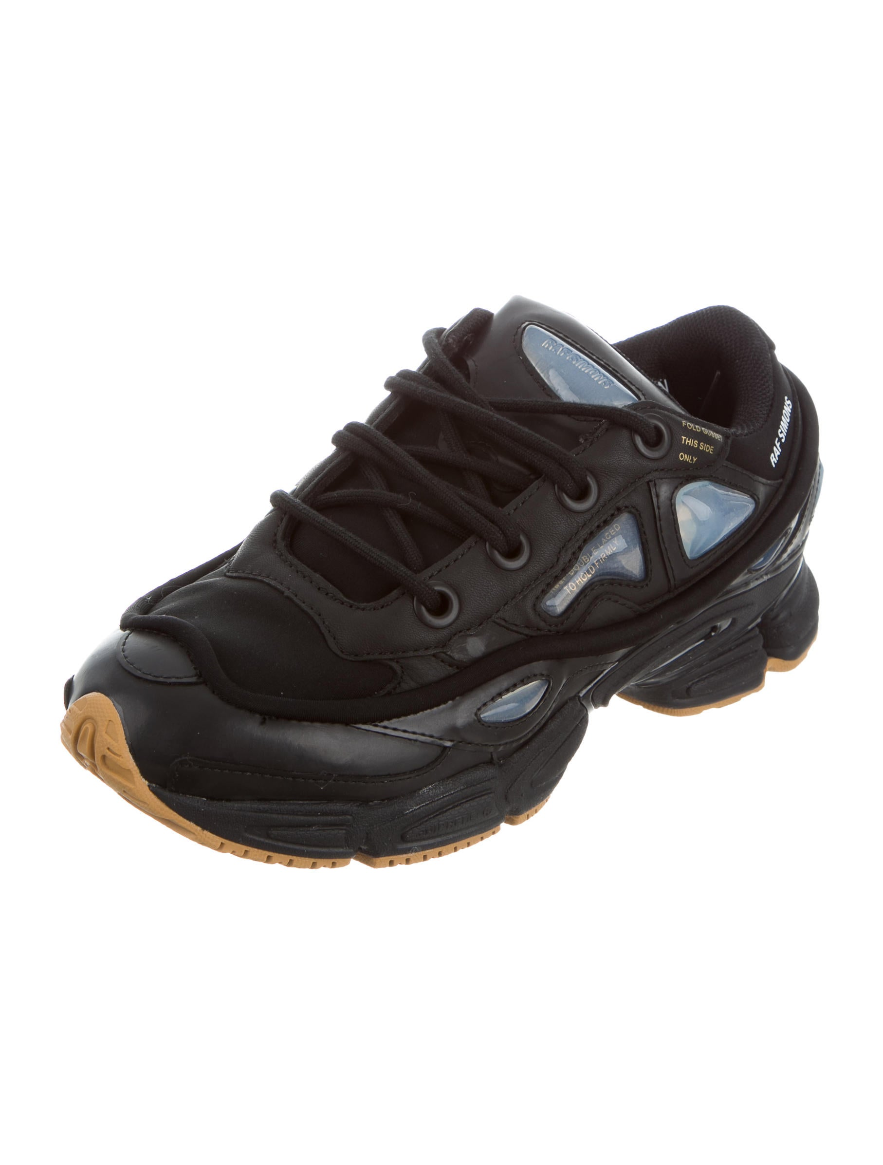 raf simons x adidas ozweego leather sneakers shoes. Black Bedroom Furniture Sets. Home Design Ideas