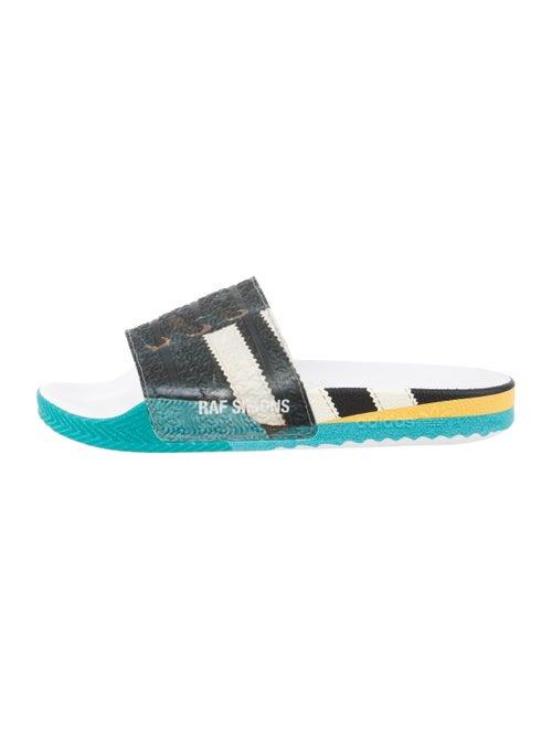 Raf Simons x adidas Rubber Slide Sandals Black