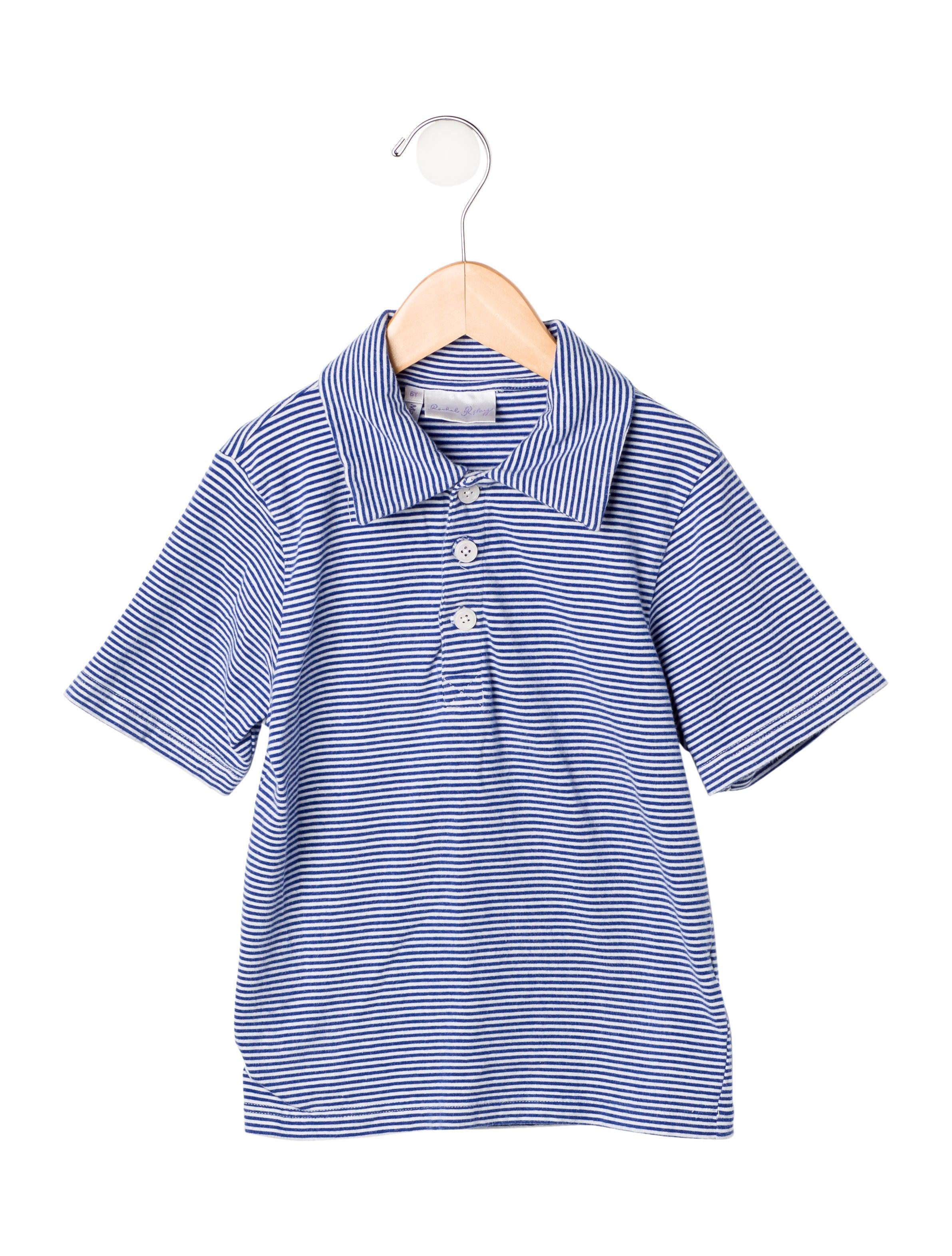 Rachel riley boys 39 striped polo shirt wrach20109 the for Boys striped polo shirts