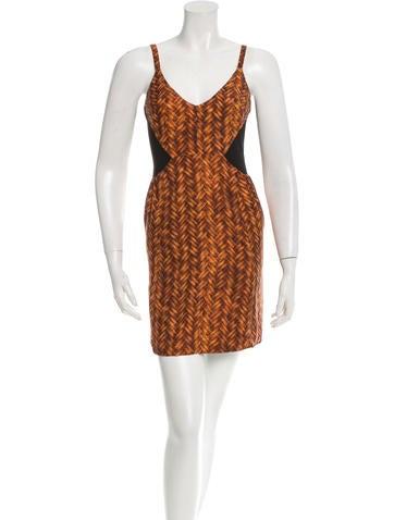 Rachel Comey Printed Sleeveless Mini Dress